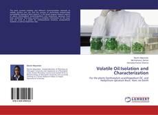 Buchcover von Volatile Oil:Isolation and Characterization