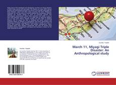 Portada del libro de March 11, Miyagi Triple Disaster: An Anthropological study