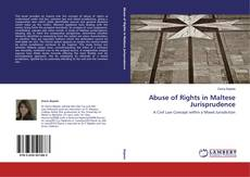 Bookcover of Abuse of Rights in Maltese Jurisprudence