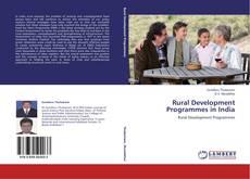 Portada del libro de Rural Development Programmes in India