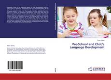 Buchcover von Pre-School and Child's Language Development