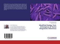 Bookcover of Modified Hodge Test: Emergence of Some Diagnostic Dilemmas