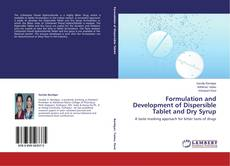 Copertina di Formulation and Development of Dispersible Tablet and Dry Syrup