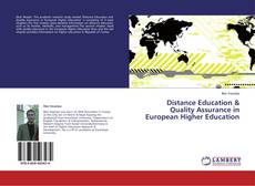 Bookcover of Distance Education & Quality Assurance in European Higher Education