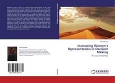 Increasing Women's Representation in Decision Making的封面