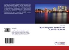 Banco Espirito Santo: Bank Capital Structure kitap kapağı