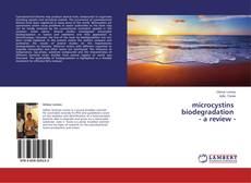 Bookcover of microcystins biodegradation a review
