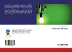 Copertina di Waste to Energy