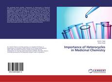 Bookcover of Importance of Heterocycles in Medicinal Chemistry