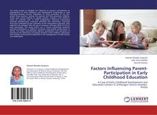 Bookcover of Factors Influencing Parent-Participation in Early Childhood Education