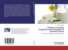 Studies on Quality Properties and Standards of Domiati Cheese的封面