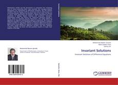 Bookcover of Invariant Solutions