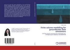 Capa do livro de Finite volume modelling for groundwater flow simulations
