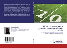 Capa do livro de Barriers to Inclusion of students with disabilities in sports
