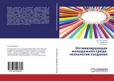 Bookcover of Оптимизирующая молодежная среда: технологии создания