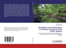 Buchcover von Perception and Adaptation to Climate Change in Ektit State, Nigeria