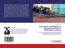 Buchcover von Devolution and Rights of Marginalised Ethnic Minorities in Kenya