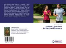 Bookcover of Gender Equality In Ethiopian Philosophy