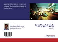 Buchcover von Control Area Network for Vehicle Security System