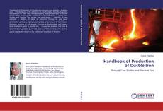 Bookcover of Handbook of Production of Ductile Iron