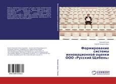 Portada del libro de Формирование системы инновационной оценки ООО «Русский Щебень»