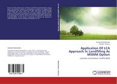 Обложка Application Of LCA Approach In Landfilling As MSWM Option