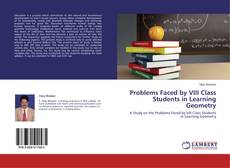 Bookcover of Problems Faced by VIII Class Students in Learning Geometry