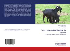 Bookcover of Coat colour distribution in goats