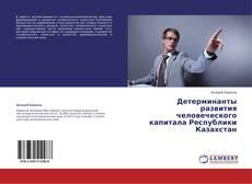 Обложка Детерминанты развития человеческого капитала Республики Казахстан