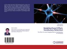 Bookcover of Neighborhood Effect, Vocabulary Retention