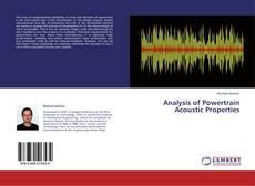 Analysis of Powertrain Acoustic Properties的封面