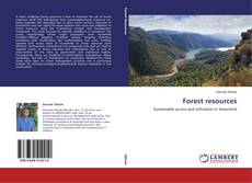 Bookcover of Forest resources