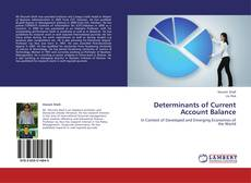 Bookcover of Determinants of Current Account Balance