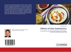 Bookcover of Effects of Oats Substitution