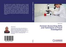 Buchcover von Forensic Accounting Skills and Techniques in Fraud Investigation