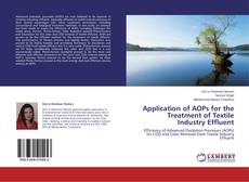 Couverture de Application of AOPs for the Treatment of Textile Industry Effluent