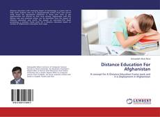 Borítókép a  Distance Education For Afghanistan - hoz