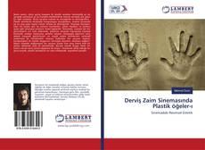 Capa do livro de Derviş Zaim Sinemasında Plastik öğeler-ı