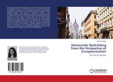 Bookcover of Democratic Backsliding from the Perspective of Europeanization