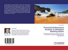 Capa do livro de Financial Performance Analysis in Ethiopian Banking Sector