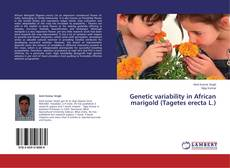 Bookcover of Genetic variability in African marigold (Tagetes erecta L.)