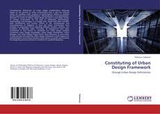 Capa do livro de Constituting of Urban Design Framework