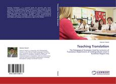 Copertina di Teaching Translation