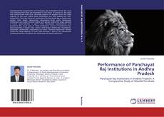 Portada del libro de Performance of Panchayat Raj Institutions in Andhra Pradesh