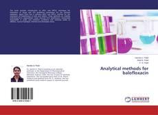 Capa do livro de Analytical methods for balofloxacin