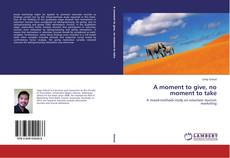 Capa do livro de A moment to give, no moment to take
