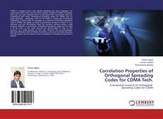 Bookcover of Correlation Properties of Orthogonal Spreading Codes for CDMA Tech.