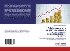 Обложка Эффективность инвестирования в реализацию инновационного проекта