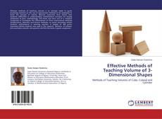 Bookcover of Effective Methods of Teaching Volume of 3-Dimensional Shapes