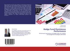 Bookcover of Hedge Fund Persistence Performance